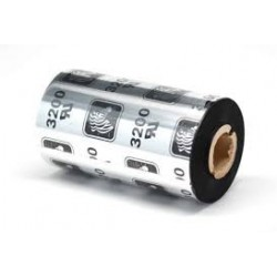 800132-102 56,9mm X 74m Ribbon MEZCLA CERA-RESINA ZEBRA 3200, OUT Core 12,7mm. Ancho del Rollo 56,9mm. CAJA con 12 rollos
