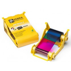 800033-340 Cartridge COLOR YMCKO. Para impresoras ZXP3 IX Series